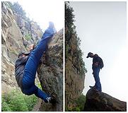 舒适、透气、酷帅   无拘无束—凯乐石(KAILAS)户外9A攀岩速干裤测评