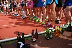 喝啤酒+跑步=?