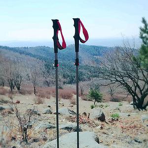 mountain yo yo五节折叠杖,使用效果还不错