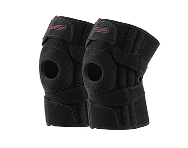 羚途开放式护膝 支撑护膝短款(透气)