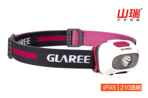 ISPO参展新品 GLAREE L60轻量化头灯(干电池款)